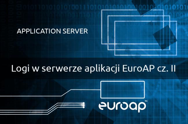 Logi w serwerze aplikacji