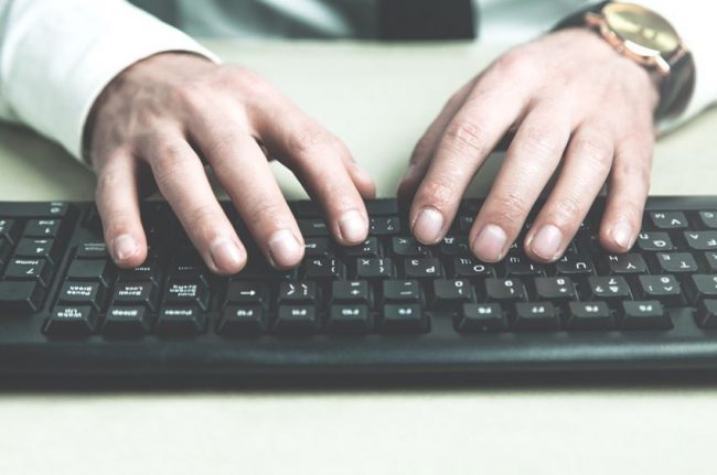 Nauka pisania bezwzrokowego